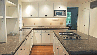 At Fine Line Cabinets, we can install your custom cabinets so they fit perfectly in your home.